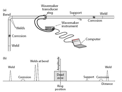 Schematic diagram showing the major components of the Wavemaker G3 system in atypical test configuration